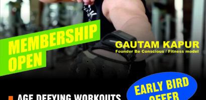Gautam kapur's fitness training- Be Conscious