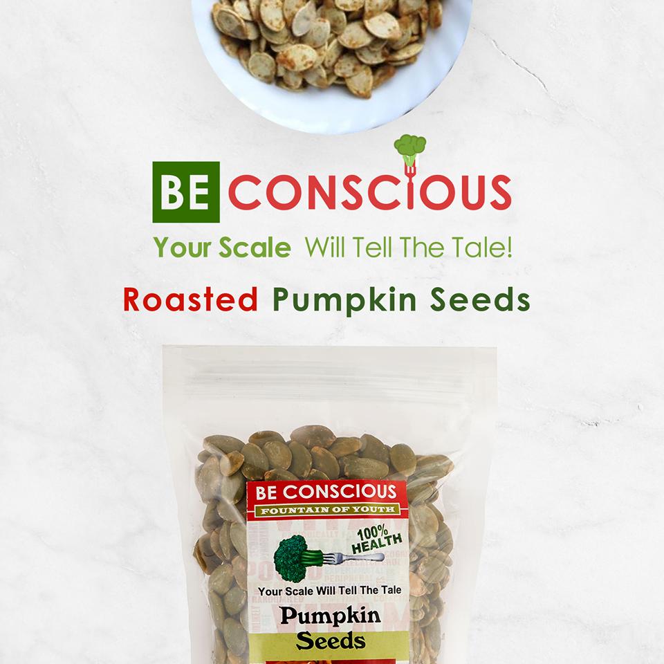 Pumpkin Seeds Be Conscious
