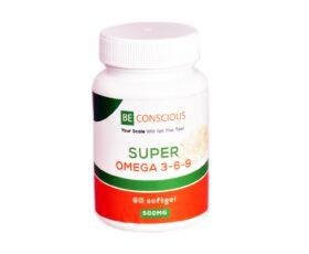 BE CONSCIOUS Omega 3-6-9 (500mg)